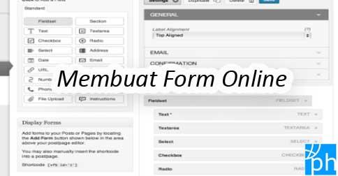 Cara Membuat Formulir Online Form Kontak Di Wordpress Pusathosting